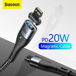 Baseus Zinc Magnetic Fast Charging Cable Type-C to Lightning 20W 2M