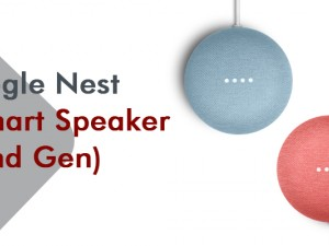 Google Nest Mini Smart Speaker (2nd Gen)