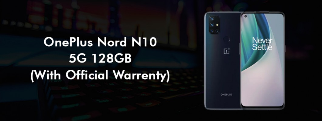 Oneplus Nord N10 5G 128GB With Official Warranty